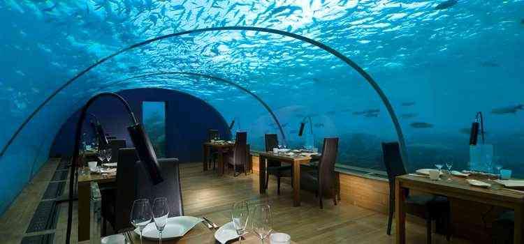 Quartos debaixo d agua 40 forever for Conrad maldives rangali island resort islas maldivas