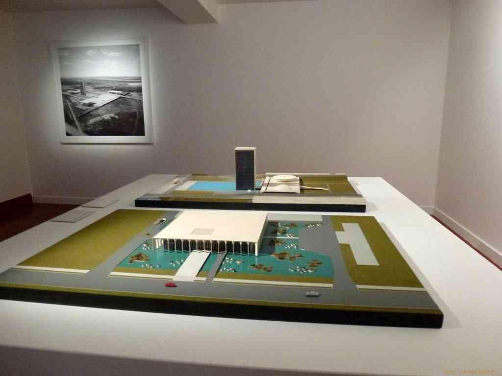 Oscar Niemeyer & Marcel Gautherot - foto: Vanda Klabin