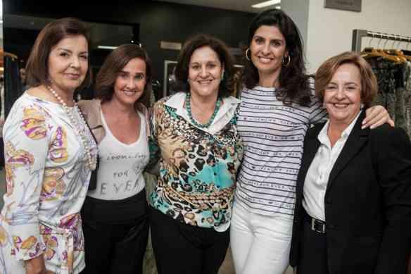 Leleta dos Mares Guia, Bebel, Angela Coutinho, Maria Pia e Lelete dos Mares Guia