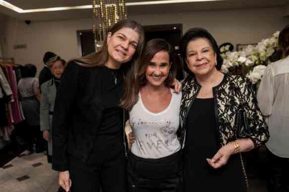 Beatriz Valle, Bebel Niemeye e Nally Borja Lopes