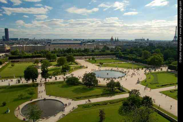 Normal paris tuileries 1 40 forever - Plan detaille du jardin des tuileries ...