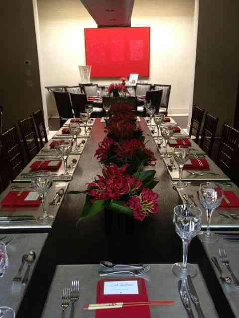Uma mesa para jantar japonês!