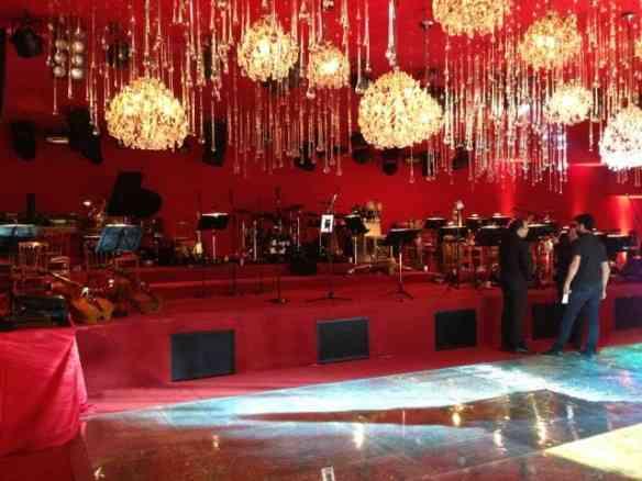 O lugar da orquestra...