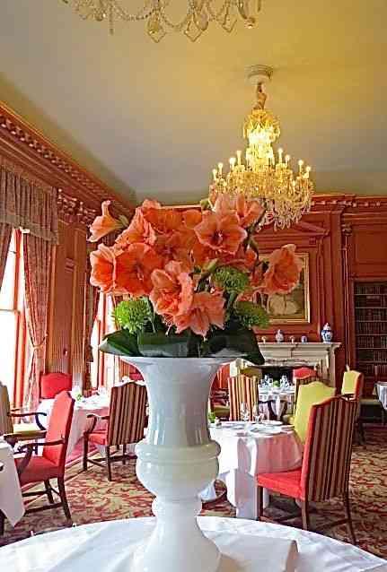 Sala de jantar, atual restaurante, de Cliveden House!