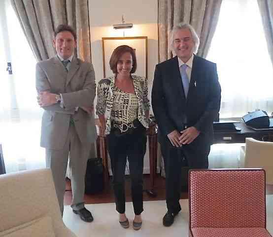 Com Stephen Forsey e nosso anfitrião, o querido David Zylberman