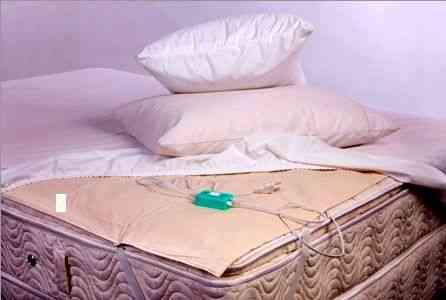Lençol térmico que funciona como uma capa de colchão e aquece toda a sua cama...