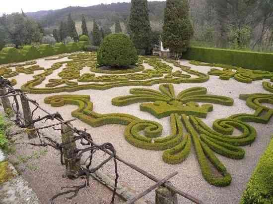 Vista do jardim da Casa de Mateus!