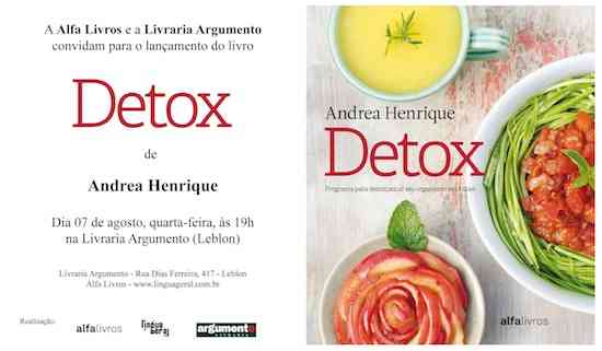 convite detox argumento baixa