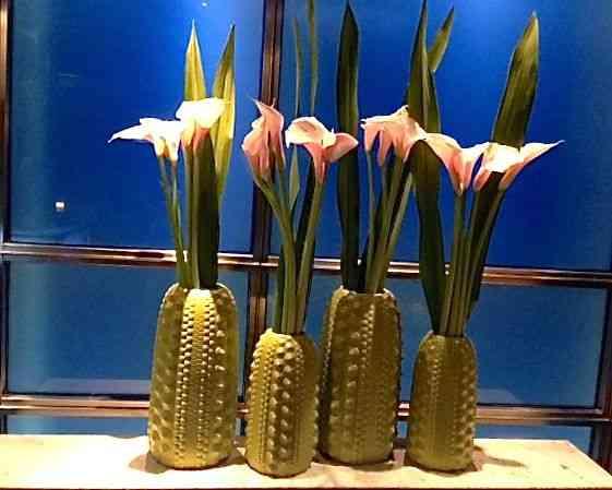 Este bouquet enfeitava a entrada do restaurante chinês Hakkasan, total na ondo do Jeff!