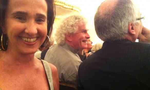 Sentei-me atrás de Sir Rattle, num recital de Magdalena, e pude constatar as vibração do fã apaixonado!
