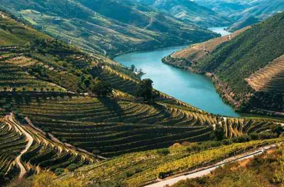 O lindo rio Douro, responsável por uma das regiões mais bonitas da península ibérica!