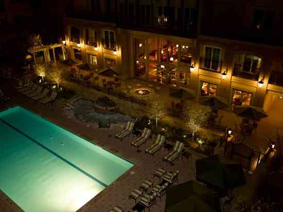 Ritz-Carlton-Club-Vail-Pool-Nighttime