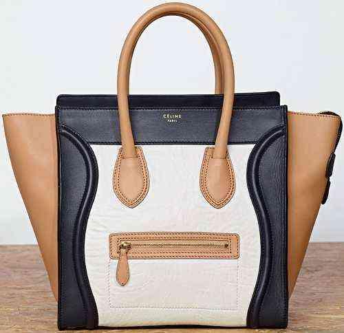 8e3221bde bolsa-celine-luggage-tote-tricolor_MLB-O-3773933226_022013
