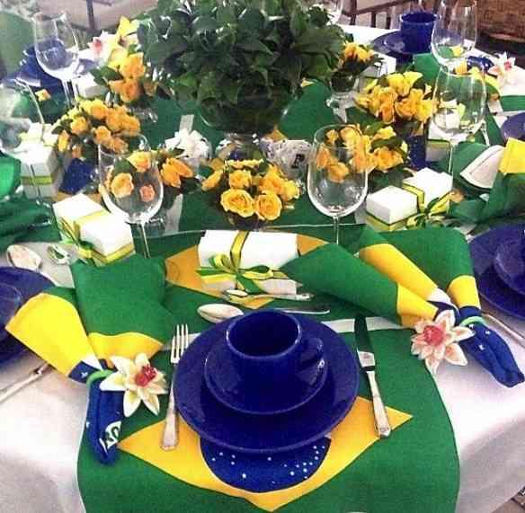 Mesa Brasillllllll de Maria Helena Brotel: Vai me servir de inspiração na copa de 2014! Amei!