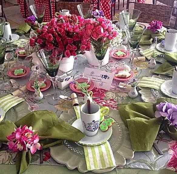 Verona Simão e sua mesa encantadora!