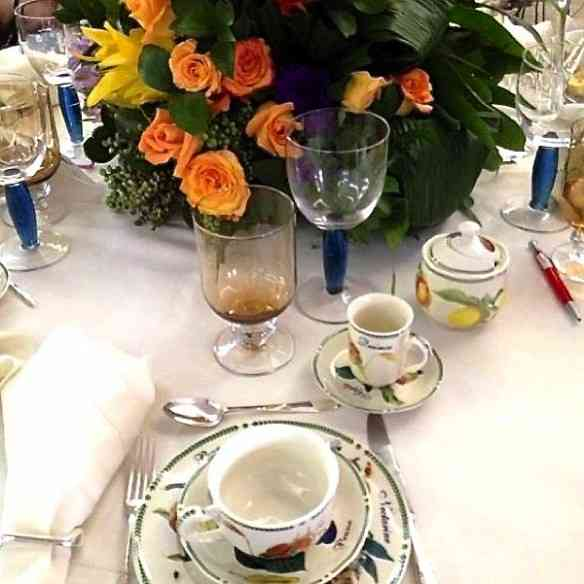 Muito cool a mesa de Ana Flavia Mendes!