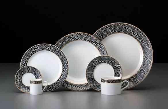 Coleção Ipanema: Desenho de Francesca Romana Diana comemorando os 70 anos da porcelana Schmidt!