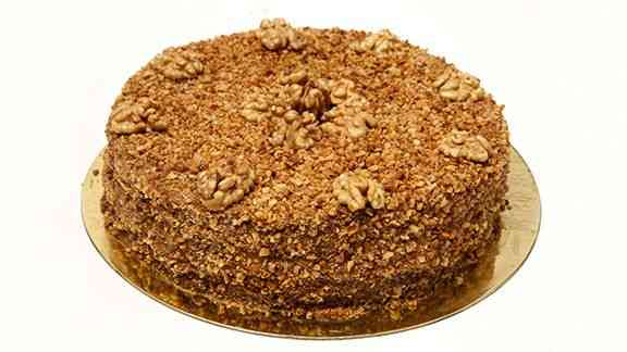 Torta de nozes surreal: boa lembrança pro natal que vem chegando!