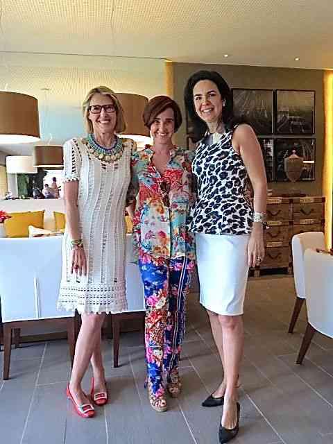 Com as queridíssimas e craques Francesca Romana Diana e Joy Garrido!