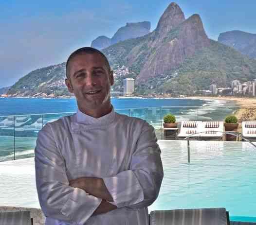O chef mara Paolo Lavezzini, do Fasano Al Mare, é frequês de carteirinhs dos pescados