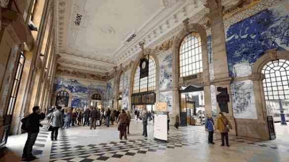A Estação de São Bento e seus azulejos, que beleza!