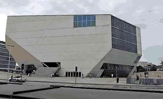 A Casa da Música de Rem Koolhaas!