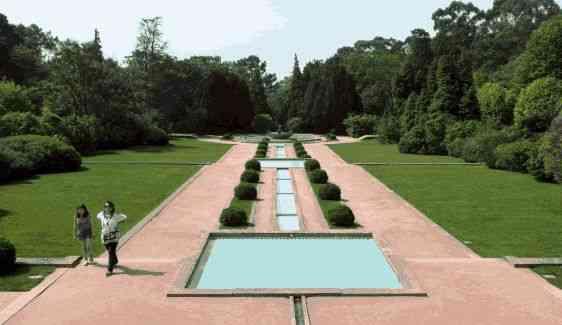 Parte dos jardins!
