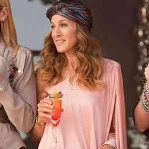 Carrie Bradshaw de Sex and the City: toads elegantérrimas de turbante!