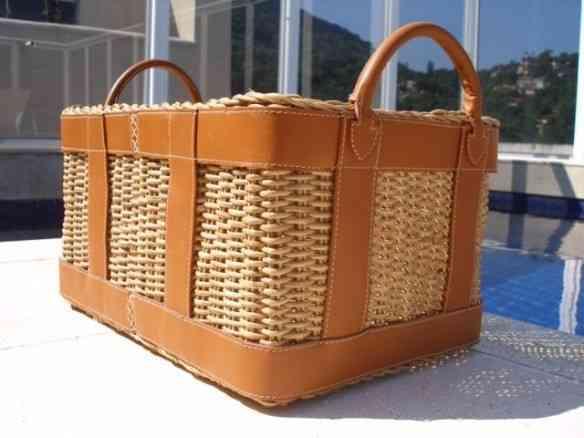 Este cesto lindo é também by Letícia Wrede.