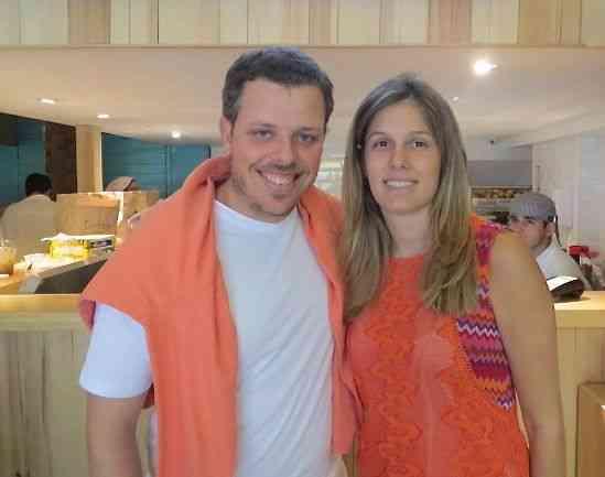 Finalizo com o principal: A linda Manu Severiano Andrade com seu sócio Fred Weissmann. Esta dupla vai longe!