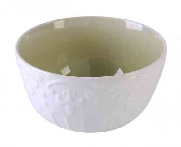 A deslumbrante baixela que AC me deu é prima irmã deste bowl que está no site, implorando por uma bela salada para acompanha-lo!