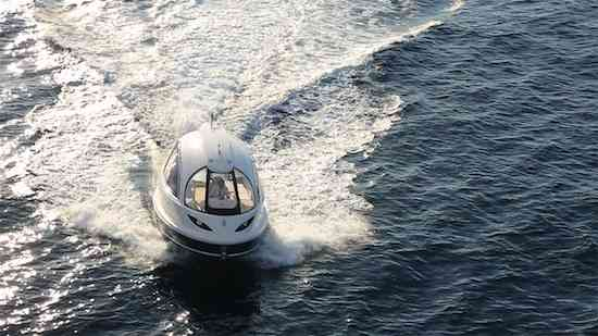 Jet-Capsule-yacht-tender-front-view