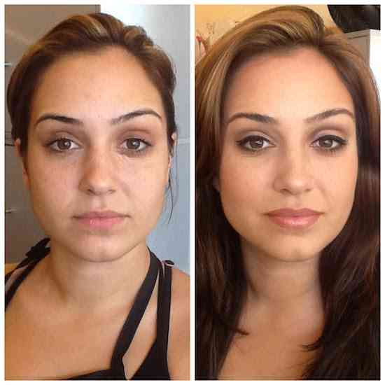 Make-up-before-and-after