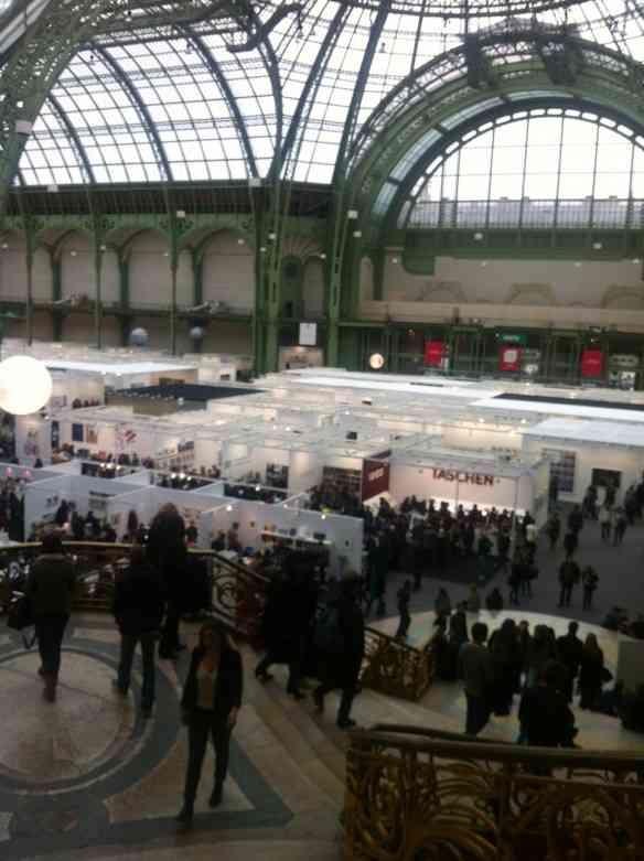 foto do interior do Grand Palais