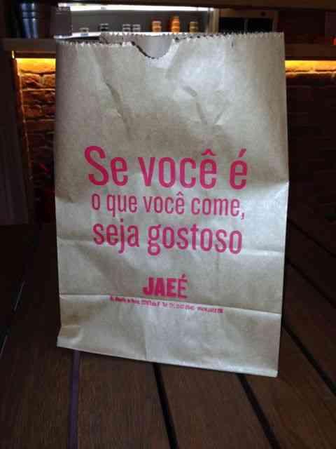A embalagem do JAEÉ já diz pro que veio!