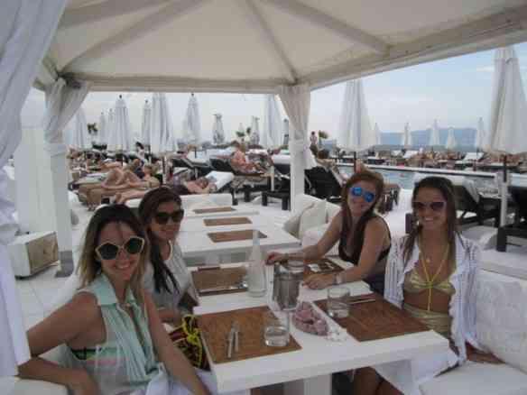 Isabel TM, Pati Varella, Cissa Geyer e eu...