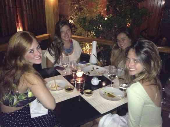 Curtindo a vida no Capputtino com minhas queridas Cissa Geyer, Pat Varella e Bel TM!