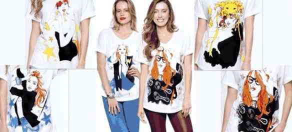 Estas são da série Zodiac Tees: as lindas Carol Averbach Andrade e Fabiola Cabral arrasando de TEE  MACTC!