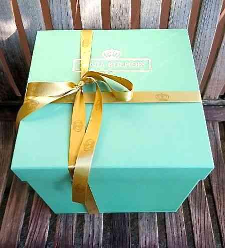 A embalagem linda e a mais cheirosa: dá pena abri-la!