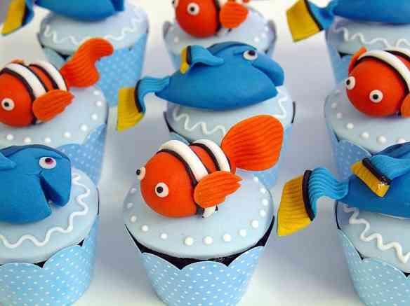 Nemo - cupcakes