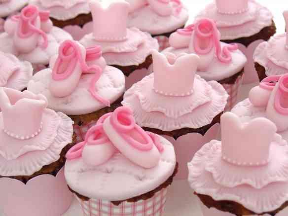 bailarina - cupcakes