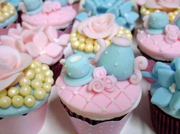 cha da tarde - cupcake