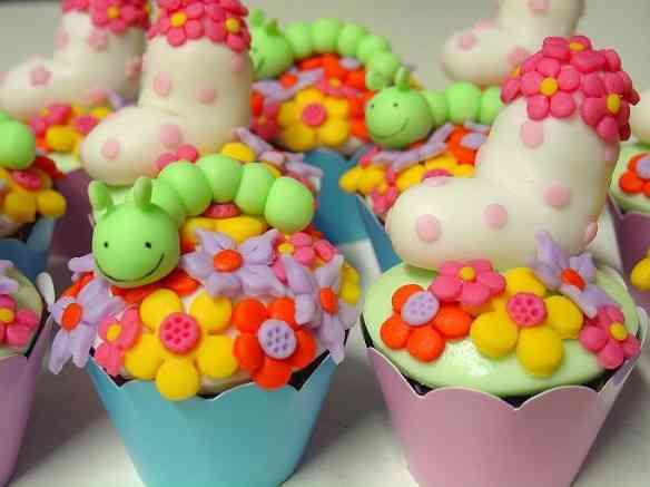 jardim - cupcakes