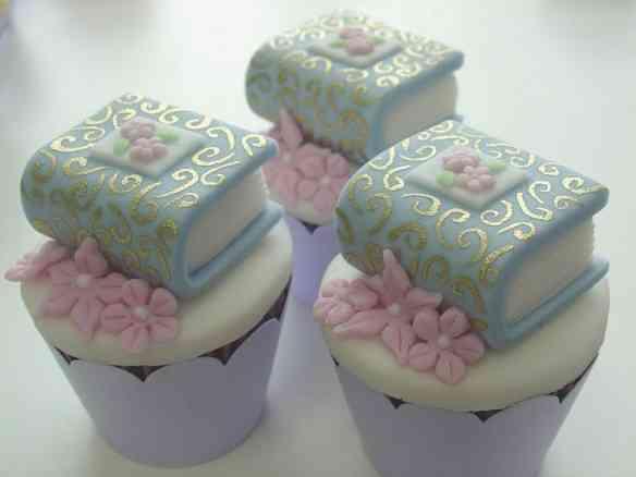 livros de contos de fadas - cupcakes