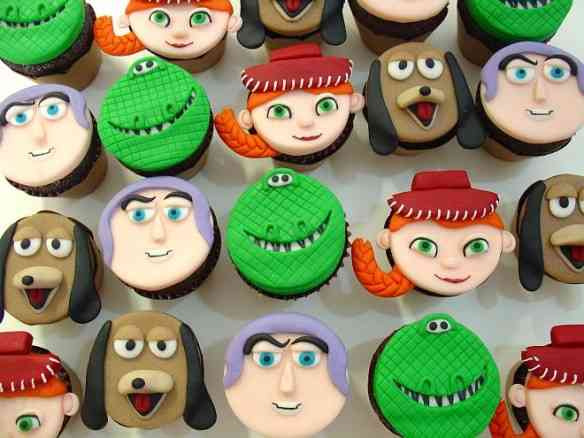 toy story - cupcakes