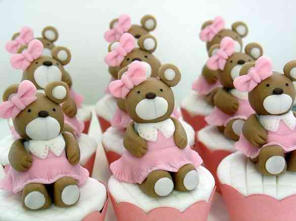 ursinhas - cupcakes