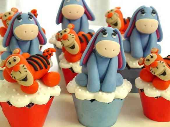 ursinho pooh - cupcakes