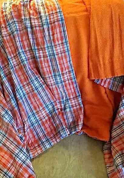 Aqui, a pororoca em forma de toalha: grande encontro de cores e tecidos! Amei!