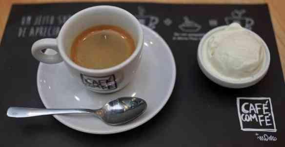 Cafezinho gourmet: prata da casa!