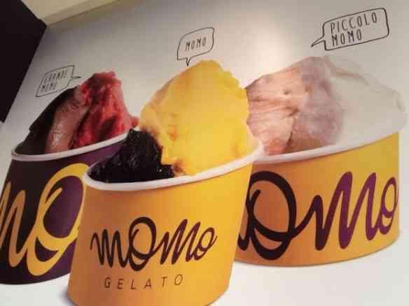Se na foto já dá pra calcular a maravilha que é este sorvete, imagina ao vivo e a cores!